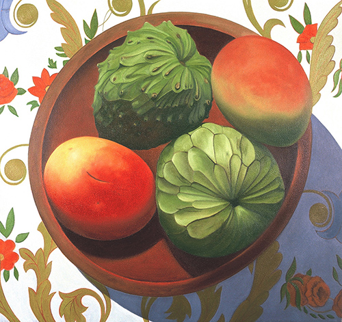 Circle with Cherimoyas