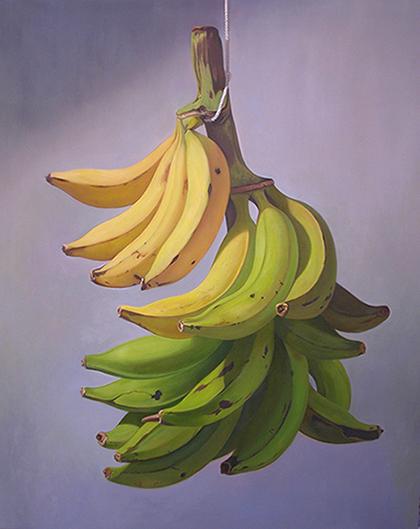 Plátanos en Gris
