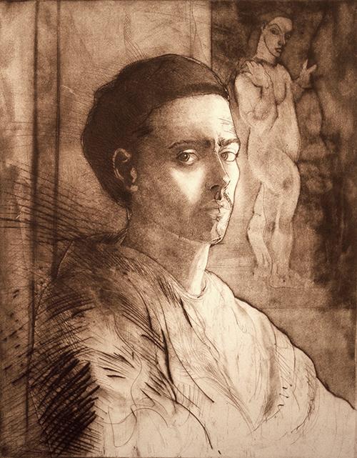 La Mujer. Self Portrait/Autorretrato