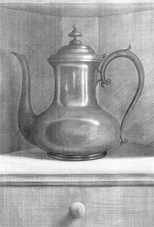 Teapot in Niche