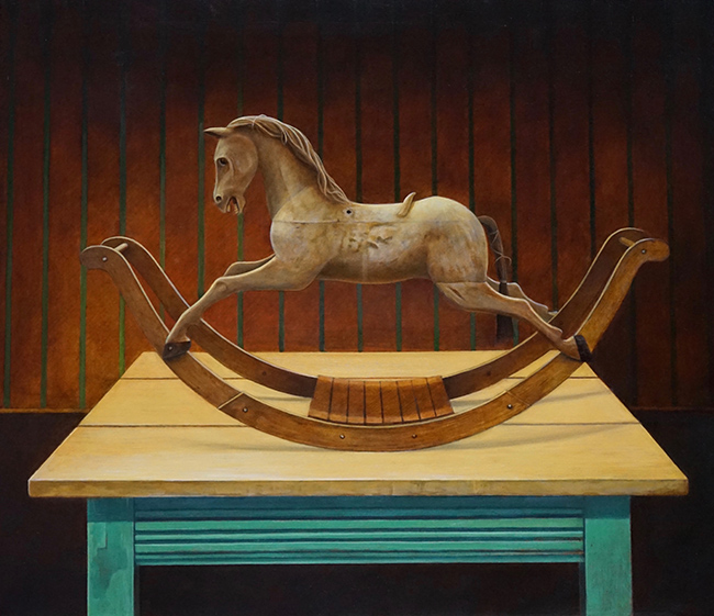 A Childhood (Rocking Horse)